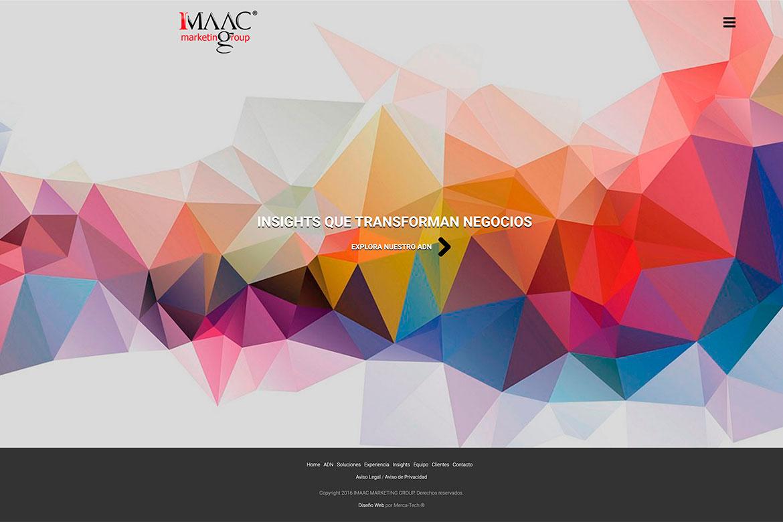Diseño Web Profesional IMAAC